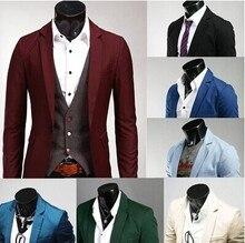 New Autumn  Spring Plus Size 3XL Suits Men Multicolor Blazer Men Blazers