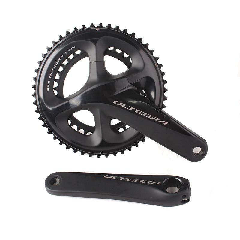 Shimano ULTEGRA R8000 53x39 T 50x34 T 52x36 T 165mm 170mm 172.5mm vélo de route pédalier creux Tech II vélo chaîne roue