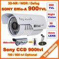 HD Безопасности Sony Effio-E 700tvl,-900tvl CCD 960 H ЭКРАННОЕ меню 36 светодиодов ИК 30 м наружного наблюдения CCTV Камеры с кронштейном