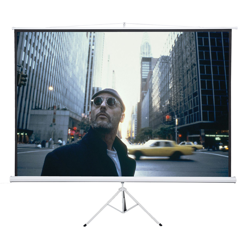 Fast Free Shipping! Bracket Projector Screen 100 inches 16:9 Tripod Projection Screen HD Floor stand Matt White Portable 72 inches and the authenticity of the tripod white plastic screen projector projector screen