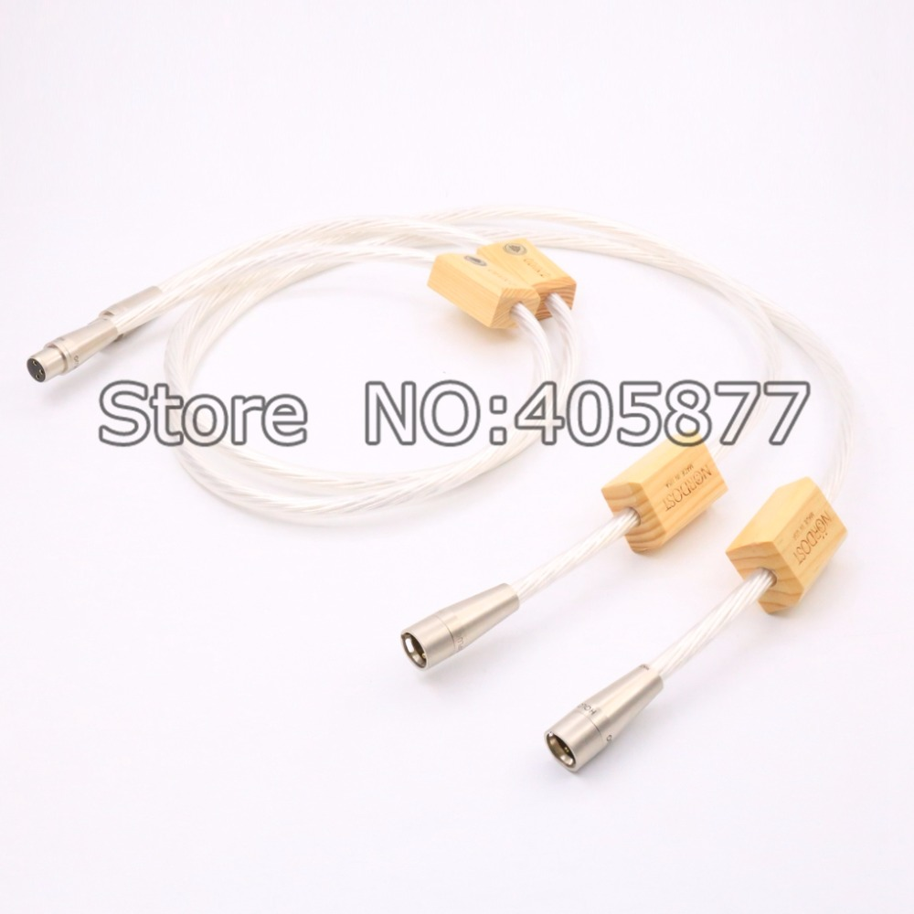 Free shipping 3meter Nordost Odin2 silver Supreme Reference interconnects XLR balance cable for amplifier CD player