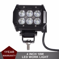 4Inch CREE 18W LED Work Light Bar 12V 24V For Car Auto Truck ATV Motorcycle Trailer