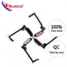 Liujiang Original Home Button For Samsung Note 4 N910F N910T N910V N910 Home Button Touch Senor Flex Cable Ribbon Replacement