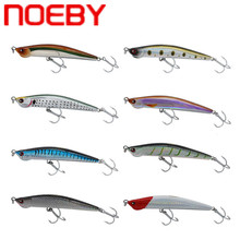 Купить с кэшбэком NOEBY NBL9193 Pencil Fishing Lure 120mm 33g Sinking Hard Bait Plastic Isca Artificial Pesca Leurre De Peche Carp Fishing Wobbler