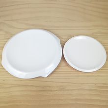 New Fashion Dinner Plate Melamine Dinnerware Flanging Round Chinese Restaurant With A5 Tableware