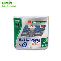 XENCN H4 12V 85/80W 5300K Blue Diamond Car Light High Power Halogen Super White Head Lamp More Bright for outlander aveo 2POS