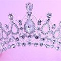 Hot European Designs Vintage Crystal Tiara Wedding Crown Bridal Tiara headpiece  Rhinestone Tiaras Crowns Pageant MYQC002