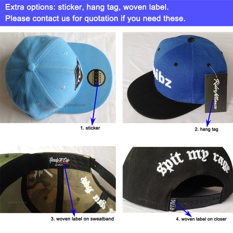 5e34424a121 50pcs lot Custom Baseball Cap Hat Acrylic 3D Embroidery 6 Panels Snapback  Adult Men Women Kids Team Hats Free Shipping-in Baseball Caps from Apparel  ...