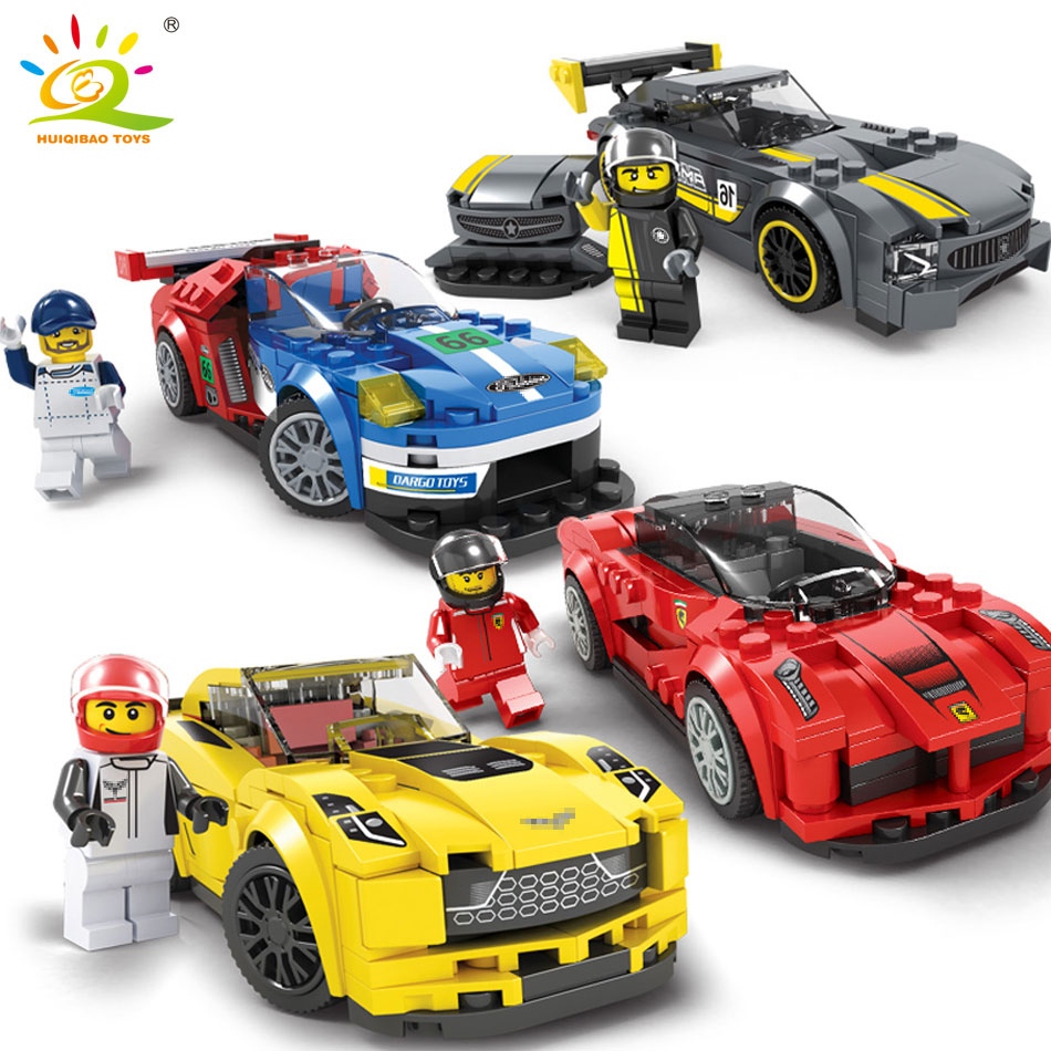 8 styles City Series Racing car Building blocks compatible Legoed Speed car Racers figures DIY models bricks toys for children esspero i nova white coffee