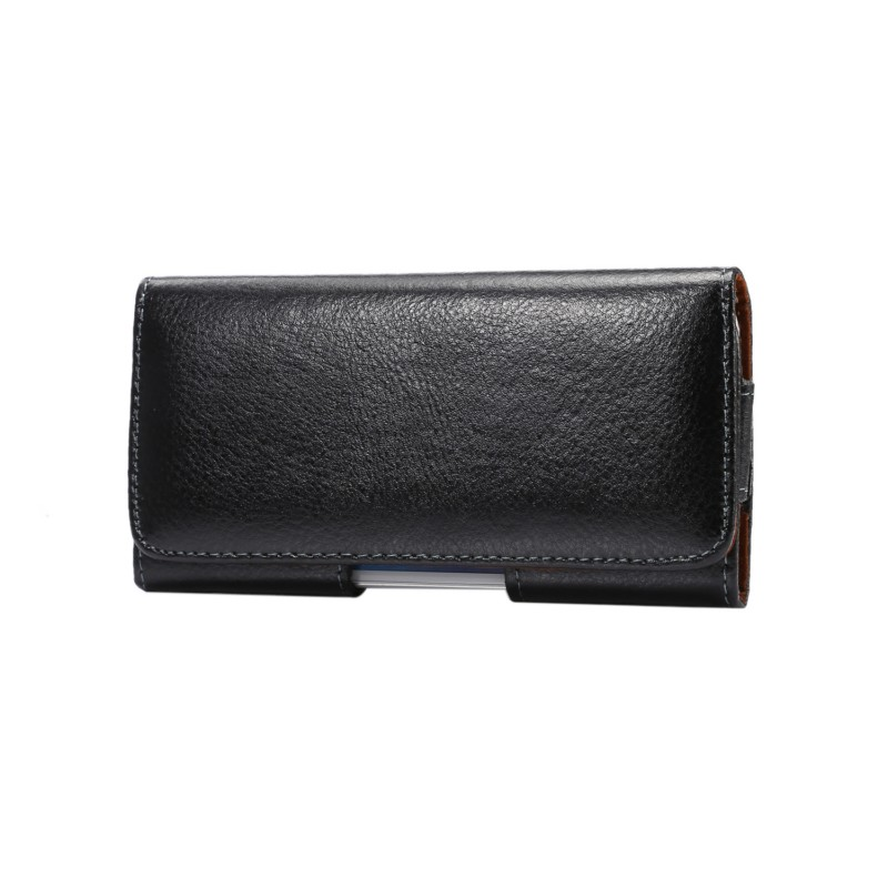OEEKOI Genuine Leather Belt Clip Pouch Cover Case for Asus ZenFone V Live/ZB501KL/5 Lite A502CG/ZB500KG/ZB500KL 5Inch