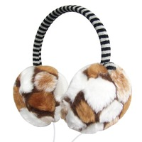 Plush Female Winter Earmuff Warm Ear Muffs Headphones Girls Earmuffs Music Earphones Ear Warmers Ear Protector