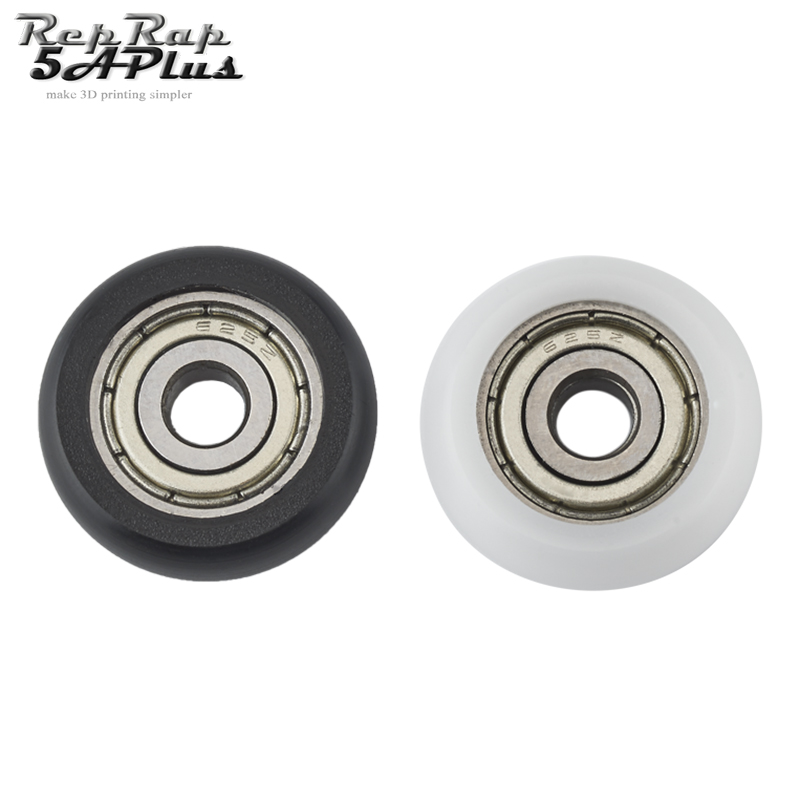 5pcs 5x21.5x7mm Bearing Guide Pulley Passive Round Wheel for 3D Printer