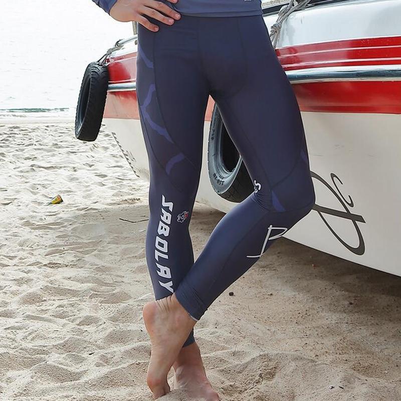 Sabolay Men Surf Rash Guard Pants Diving Surfing Tights