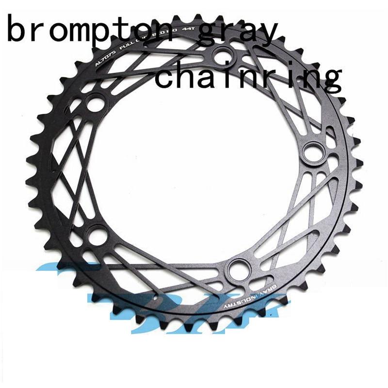 Bicycle Crank 130BCD Spider Shape 44T MTB Chainring Bicycle Chainwheel Bike Circle Crankset BMX For Brompton litepro integrated folding bike bicycle crankset bmx crank for bya412 sp8 p8 130bcd 170mm
