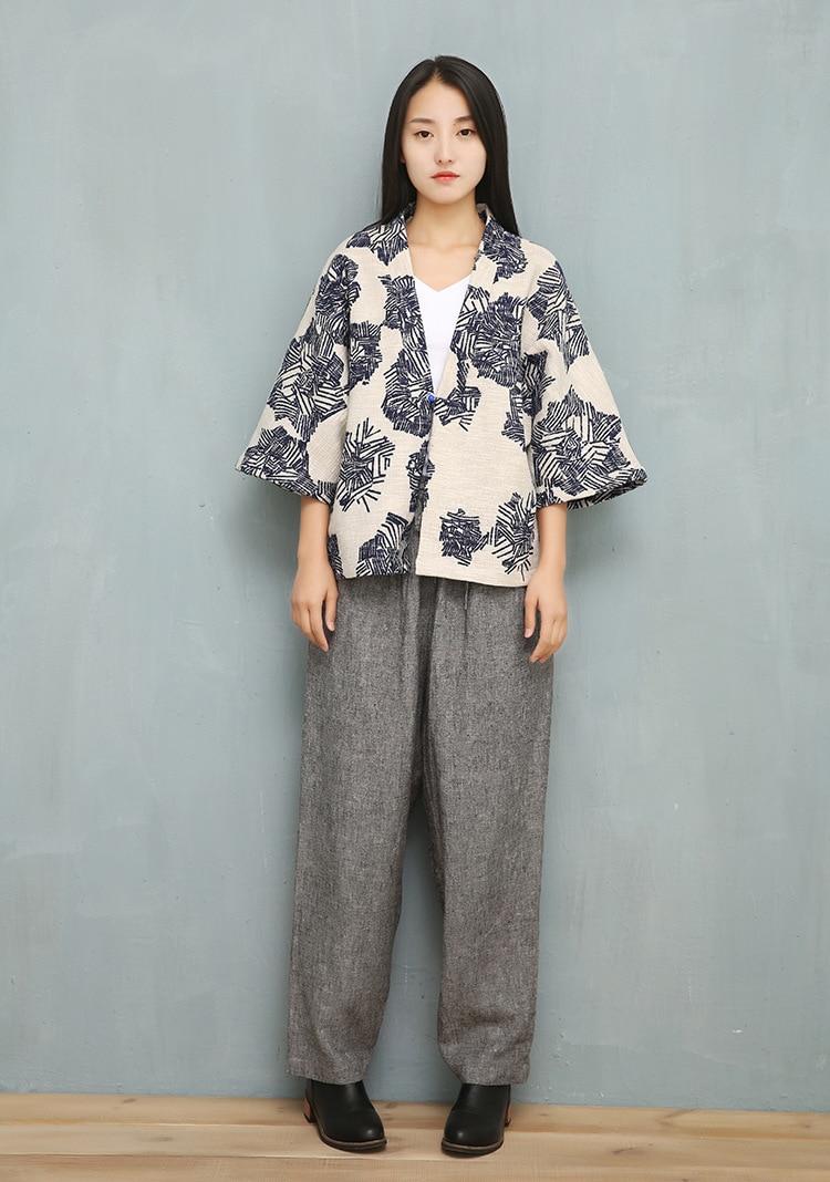 Online Shop 2017 Spring Summer Women Cotton Linen Retro Chinese ...