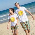 New Style Swimwear Lovers Beach Surf Shorts Quick Dry Print Board Short Couple Swimming Wear