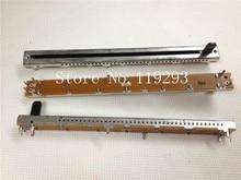 [SA]ALPHA 11,7 см направляющий потенциометр B10K с одним Соединенным железным валом длина пластикового вала 10 мм шаговый 10k  10шт/партия