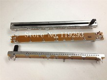 [SA]ALPHA 11.7 cm 슬라이드 포텐쇼미터 B10K 단일 링크 아이언 샤프트 플라스틱 샤프트 길이 10MM 스테핑 10 k 10 pcs/lot