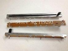[SA]ALPHA 11.7 cm potencjometr suwakowy B10K pojedyncze połączone żelazo wał plastikowy wałek długość 10MM krokowy 10 k 10 sztuk/partia