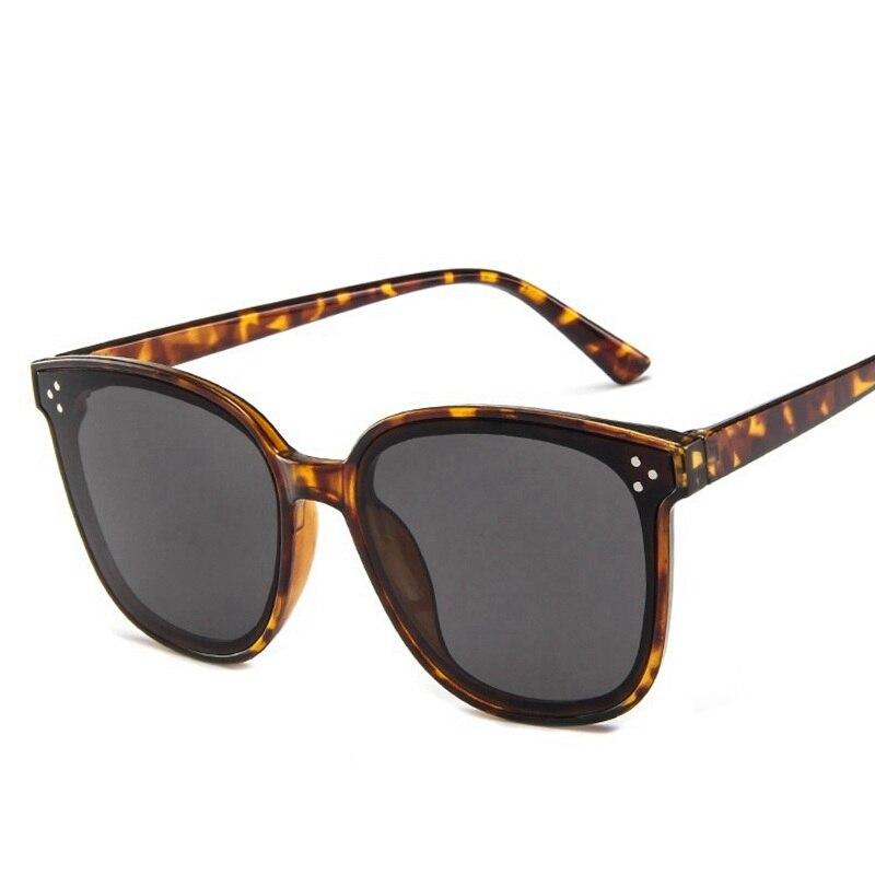 2019 Vintage Big Frame Sunglasses Female High Quality Brand Designer Fashion Sun Glasses for Women Retro Mirror Eyewear in Women 39 s Sunglasses from Apparel Accessories