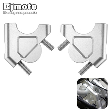 BJMOTO CNC Motorcycle Parts For BMW R1200GS R 1200 GS LC/Adventure 32MM 1 1/4 Drag Handle Bar Clamps Handlebar Riser R1200