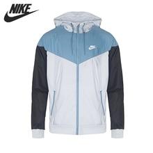 Original New Arrival 2017 NIKE Sportswear Windrunner  Men's  Jacket Hooded Sportswear