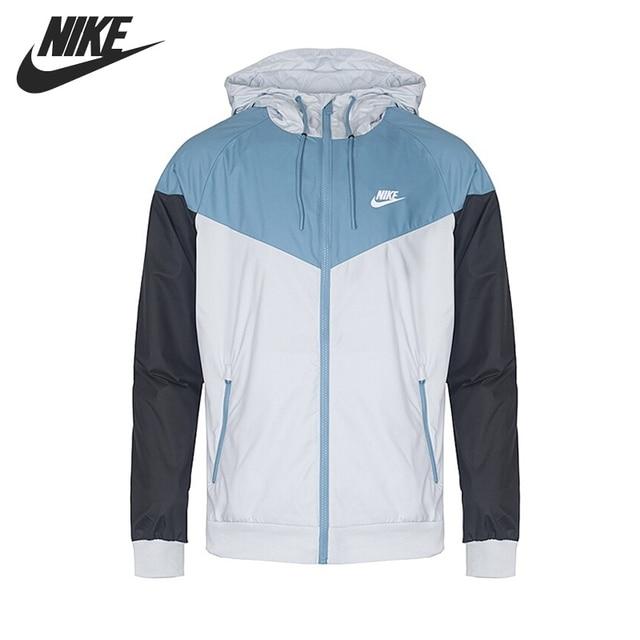 bb347fd36e25 Original New Arrival 2018 NIKE Sportswear Windrunner Men s Jacket Hooded  Sportswear