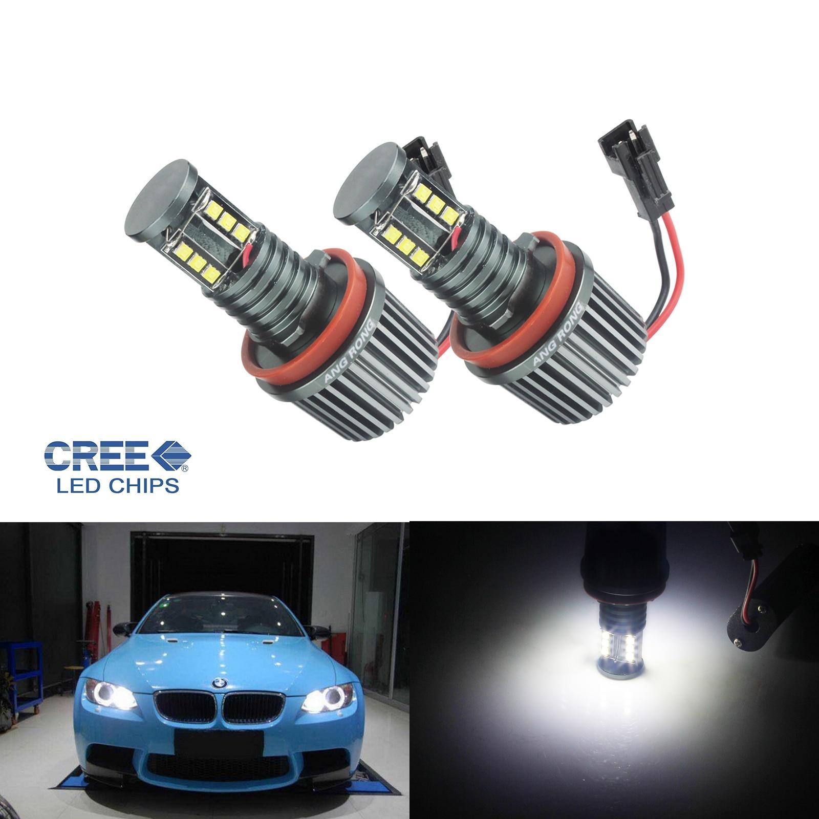BMW CREE LED 60W Angel Eyes Halo Light H8 Bulb E84 E61 E70 X5 E71 E92 X6 E89 Z4