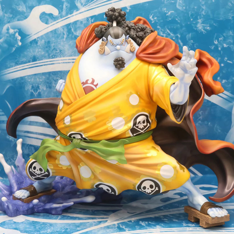 Anime ONE PIECE Jinbe Figurine Boxed 24cm Pvc Action Figure Classic Model Toys Collectible Brinquedos anime one piece action figure 20th red clothes luffy mdoel toys pvc collection figurine luffy toys 24cm
