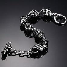 Badass Biker Skull Bracelet
