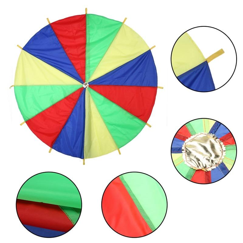 2M-Children-Kids-Outdoor-Sports-Development-Toy-Rainbow-Umbrella-Parachute-Toy-Jump-sack-Ballute-Play-Parachute-Gameing-Play-Mat-1