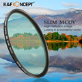 40.5/49/55/82/86mm Slim MCUV Filter Ultra-Violet Lens Filter Protector For Canon Nikon Sony NEX Series Sigma Tamron DSLR Camera
