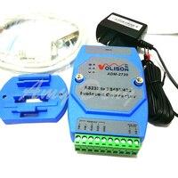 Izolowane aktywny RS232 RS485 RS422 converter 232 do 485 przemysłowej ochrony odgromowej rail