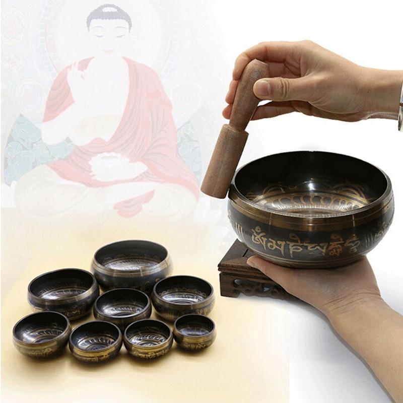 Tibetan Singing Bowl (8-10.5 cm) 5