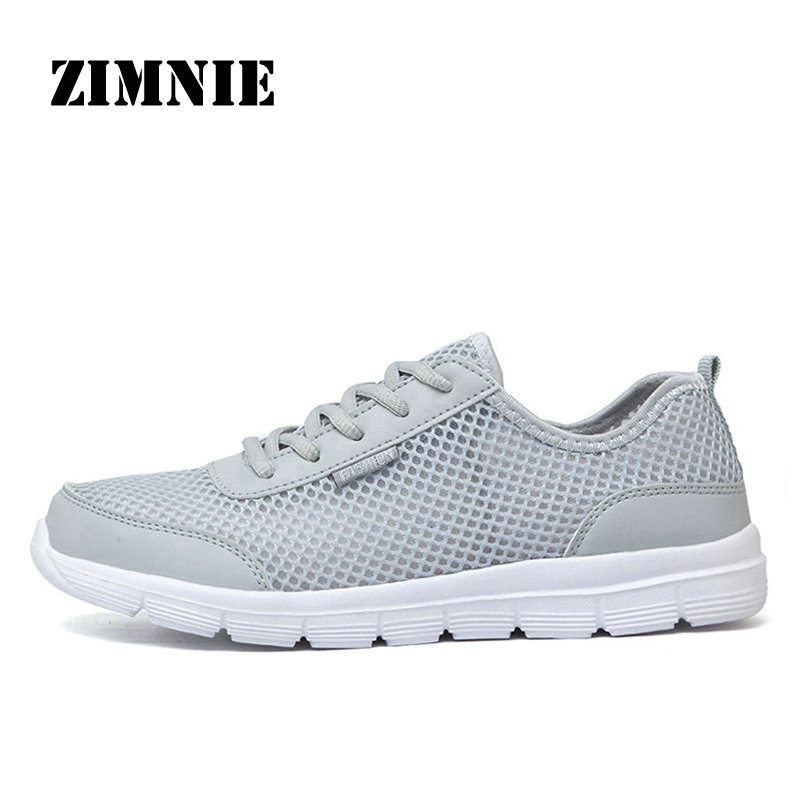 ZIMNIE 2018 New Brand Running Shoes Comfortable Breathable Outdoor Sports Light Shoes Men Women Athletic Training Run Sneakers