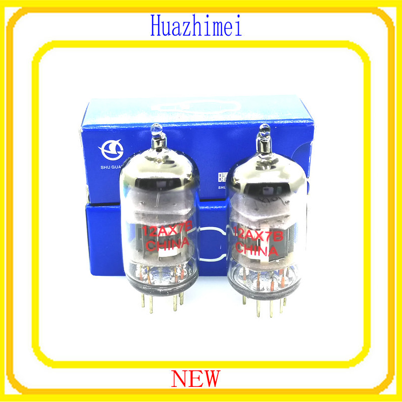 2PCS LOT 12AX7B DIY HIFI Shuguang 12AX7 Vacuum Tube
