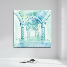 Islamic Design Background Vector Canvas Painting Posters Prints Marble Wall Art Decorative Picture Modern Home Decor HD