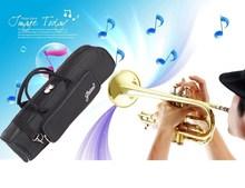 High quality Professional instrument case portable trumpet gig bag backpack waterproof design with Adjustable Shoulder Strap