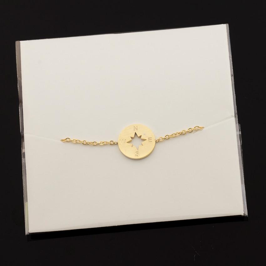 2017 ροζ χρυσό πυξίδα βραχιόλι Femme BFF - Κοσμήματα μόδας - Φωτογραφία 6