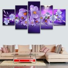 5 pcs,Full Square 5D DIY Diamond Painting Flowers diamond Embroidery Cross Stitch Rhinestones Y2583