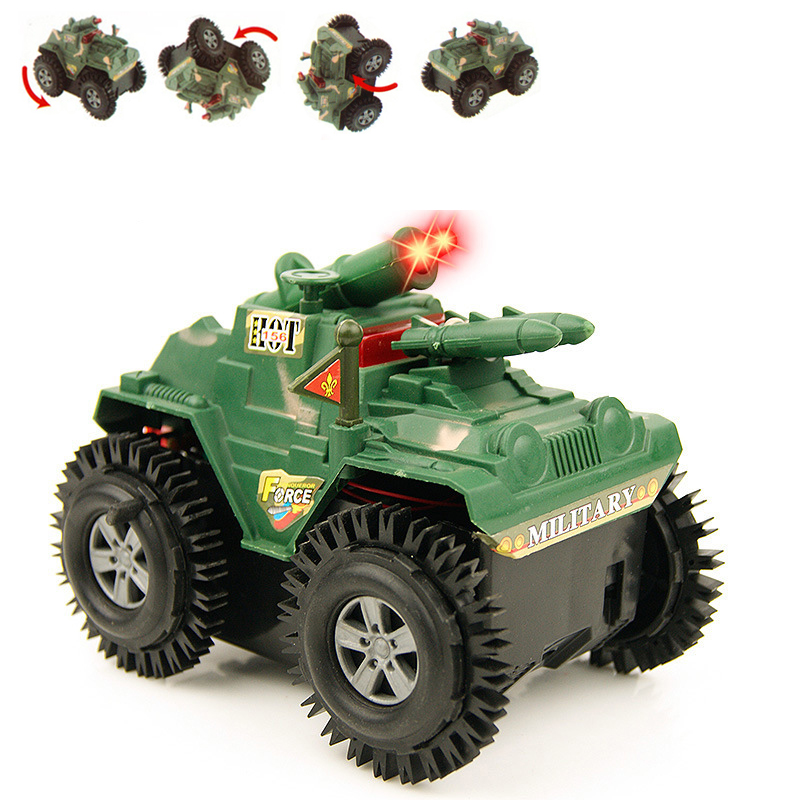 SUV car modle Not RC Car Flip stunt car kids toys Mini small Armored car Juguetes Brinquedos Childrens day gift boy toys