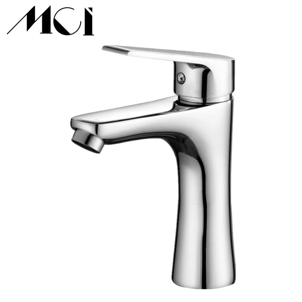 Mixer Bathroom Sink Faucet Basin Faucet Chrome Brass Faucet Water Faucet Basin Mixer Tap Beck Mount