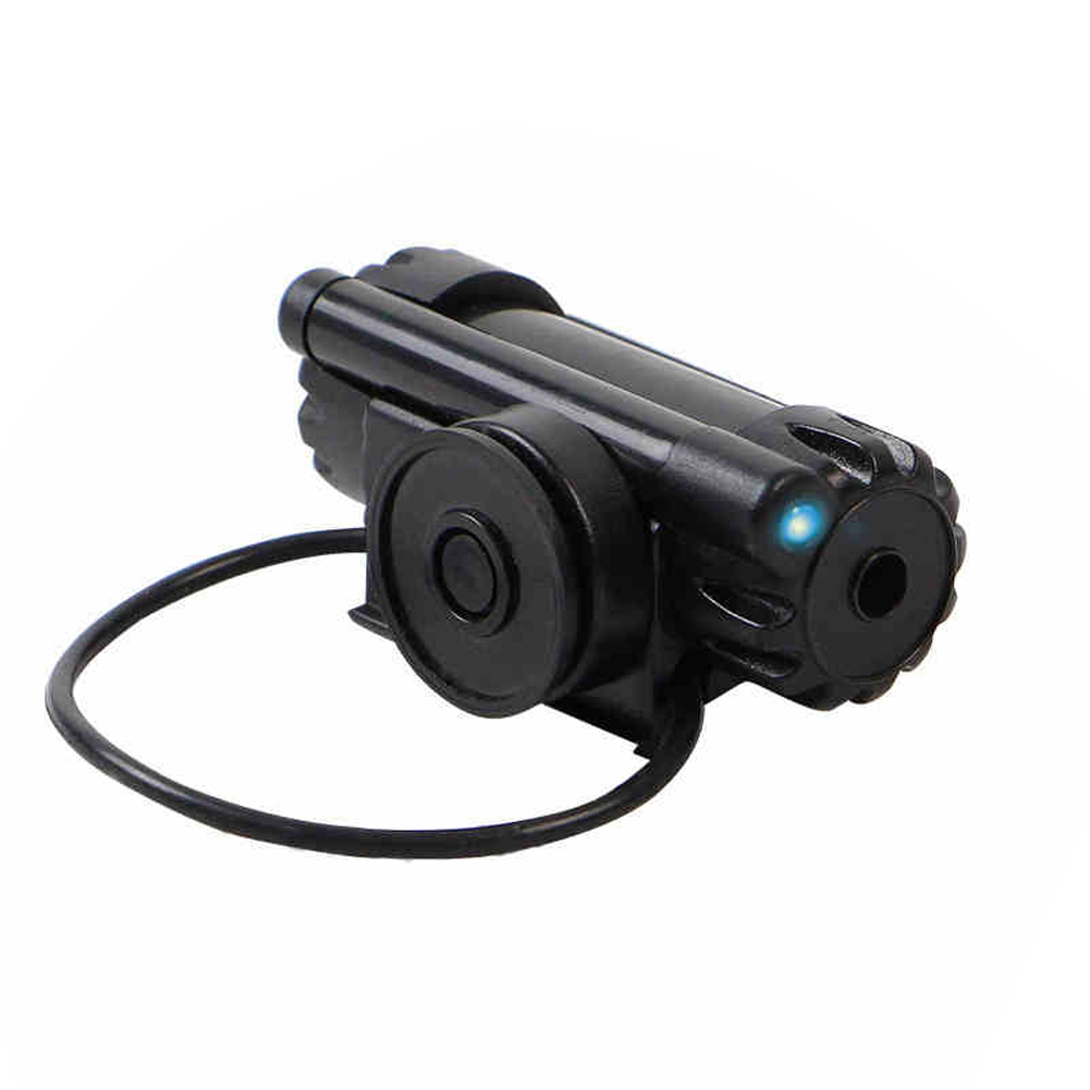 Daytime Bite Fishing Alarm Night Alert Waterproof High Sensitive Electronic Indicator Bell LED Light Buffer Sound Black Portable