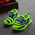Primavera verano transpirable zapatos de los niños, antideslizante zapatos de los niños, zapatos corrientes suaves, 1-6year zapatillas cs-026