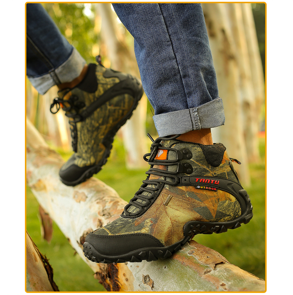 Outdoor Camouflage Tactical Sport Men\`s Shoes (20)
