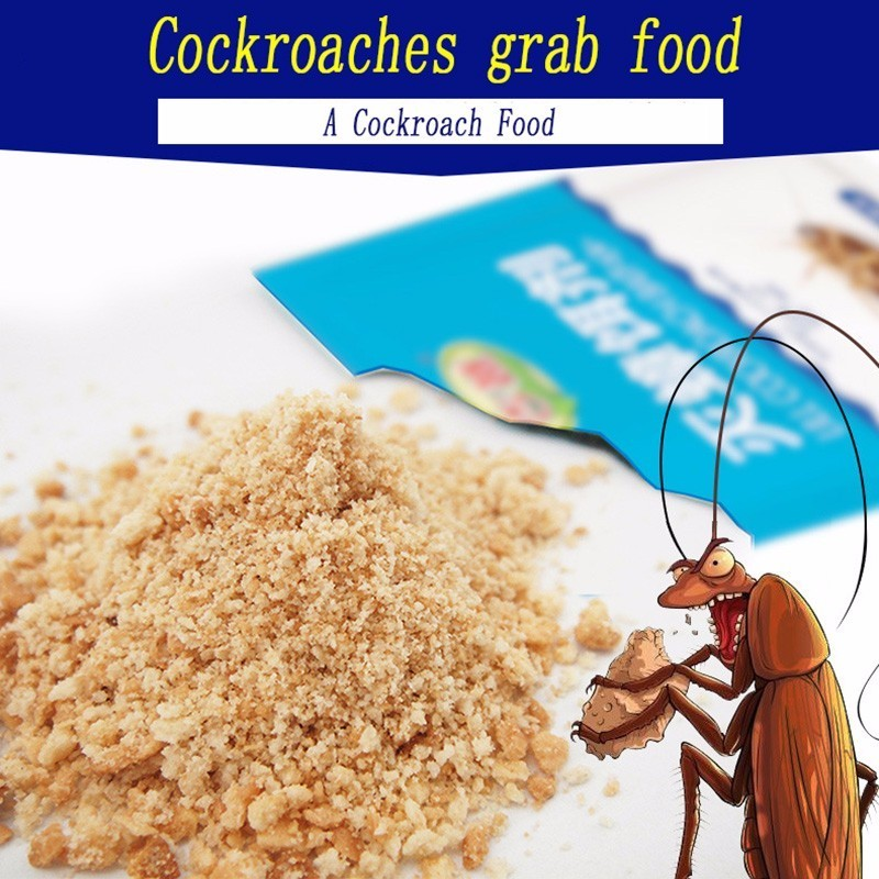 Image 5 - 12PCS Very Powerful Effective Cockroach Killing Bait Pest Control Cockroach Killer repellent Powder For Kitchen Restaurant-in Baits & Lures from Home & Garden