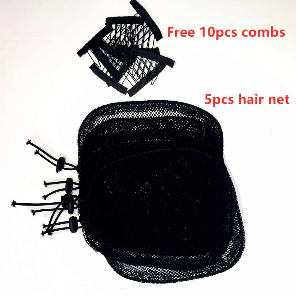 Top New 10pc/lot Net Making Ponytail Black Color High Quality Hair Net for Make Ponytail black women hair Tool