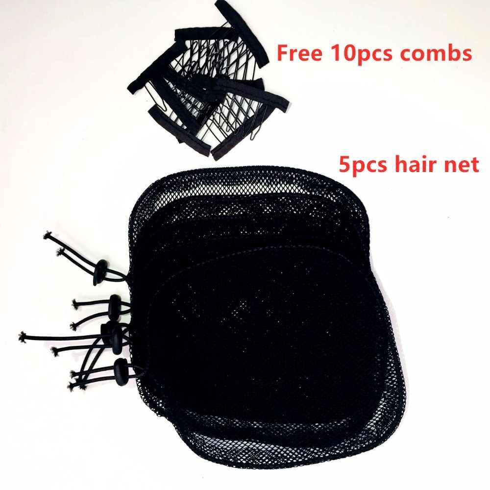 Новинка, 10 шт./лот, сеть для изготовления конского хвоста, черный цвет, Высококачественная сеть для волос, черная, женская, для волос, инструмент
