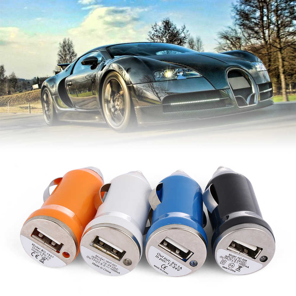 Random Color!! 1 Pcs Universal USB Car Charger 5V 3.1A USB Socket Charger Power Adapter For Phone Ipad Samsung Xiaomi Tablet