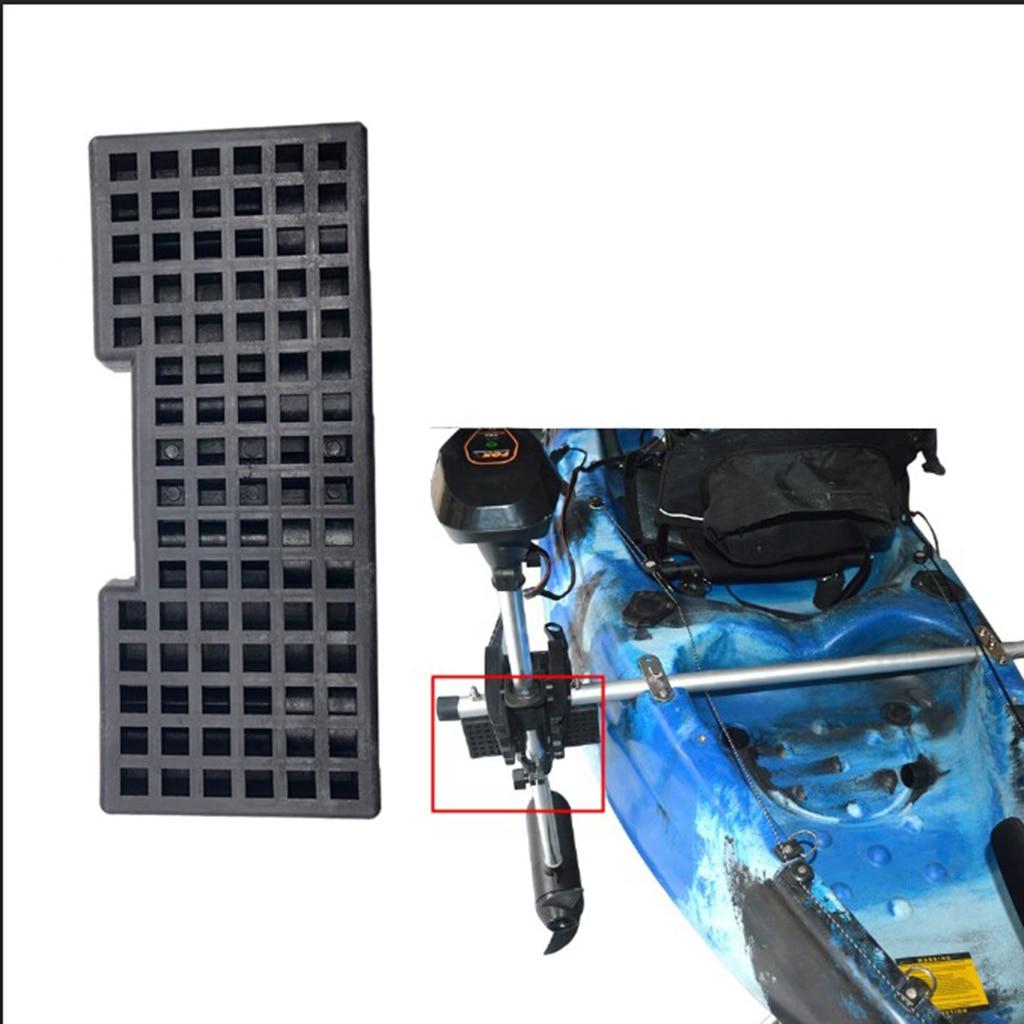 Heavy Duty Kayak Trolling Motor Block Board Boats Canoe Motor Mounting Bracket Rack Kit Assembly DIY Accessories